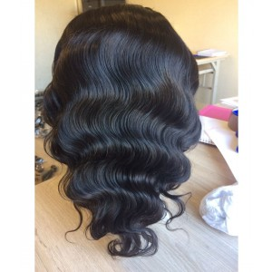 Perruque lace wig body wave 16