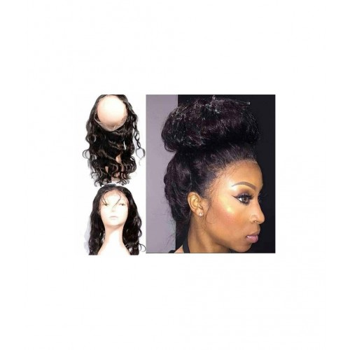 lace frontal 360° lisse