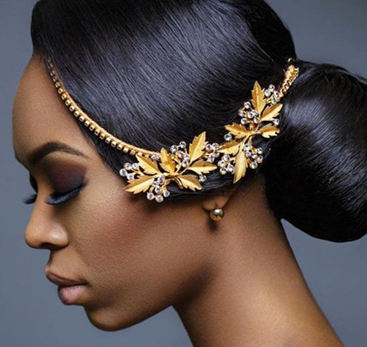 Modele de coiffure chignon pour mariage